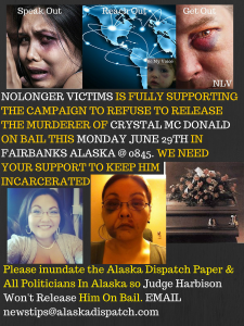 Nolonger Victims Supporting Justice for Crystal McDonald Rice (2)
