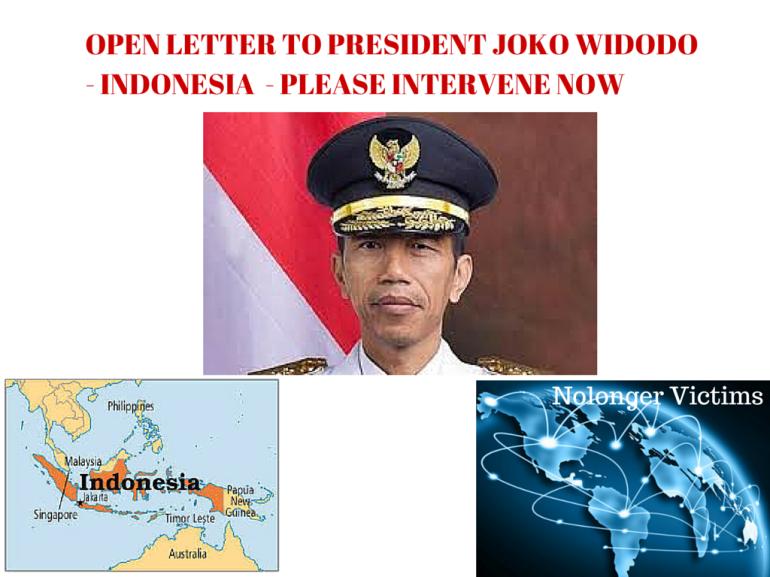 OPEN LETTER TO PRESIDENT JOKO WIDODO - (1)
